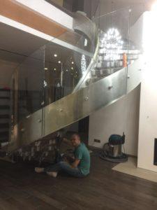 Петровские аллеи, Гнутое стекло 12 мм (2)