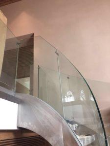 Петровские аллеи, Гнутое стекло 12 мм